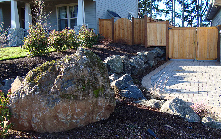 Large Rock And Boulder Placement